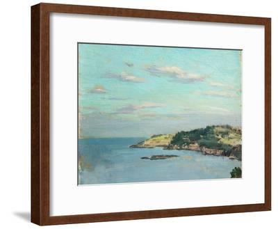 Marine Sketch, 1908-Willard Leroy Metcalf-Framed Giclee Print