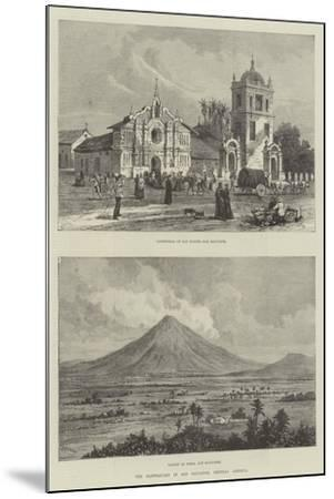 The Earthquake in San Salvador, Central America- Warry-Mounted Giclee Print