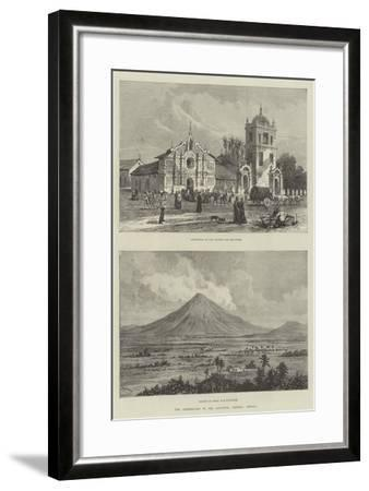 The Earthquake in San Salvador, Central America- Warry-Framed Giclee Print