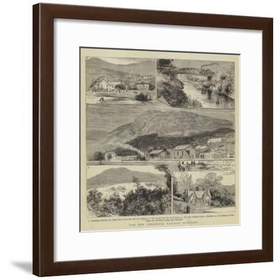 The New Aberfoyle Railway, Scotland- Warry-Framed Giclee Print