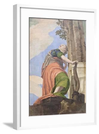Allegory of Good Governance, 1551-52-Veronese-Framed Giclee Print