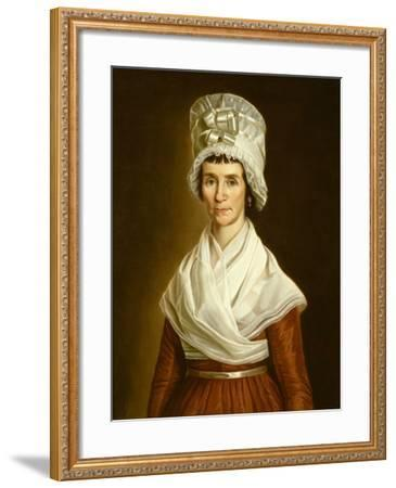 Sarah Mcclean Bolton, 1796-Walter Robertson-Framed Giclee Print