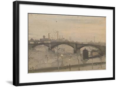 The Thames at Chelsea-William Evelyn Osbourne-Framed Giclee Print