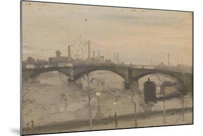 The Thames at Chelsea-William Evelyn Osbourne-Mounted Giclee Print