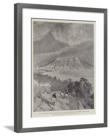 The Trouble in Crete-William 'Crimea' Simpson-Framed Giclee Print