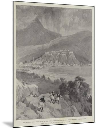 The Trouble in Crete-William 'Crimea' Simpson-Mounted Giclee Print