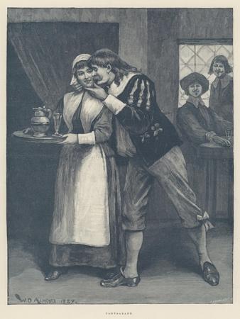 Contraband-William Douglas Almond-Framed Giclee Print