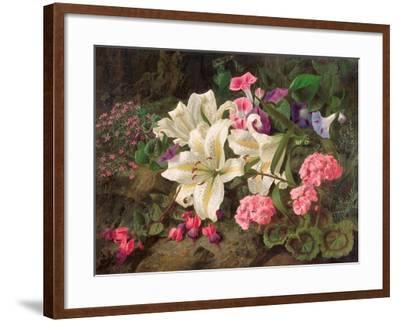 Golden-Rayed Lily of Japan, 1869-William Ford-Framed Giclee Print