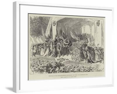 Festival of the Seven-Hundredth Anniversary of Berne, the Historical Play-William Douglas Almond-Framed Giclee Print