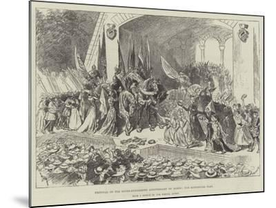 Festival of the Seven-Hundredth Anniversary of Berne, the Historical Play-William Douglas Almond-Mounted Giclee Print