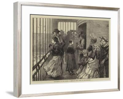 Whit-Monday in the Clouds, a Sketch in the Cage of the Monument-William Bazett Murray-Framed Giclee Print