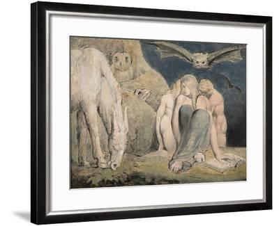 The Night of Enitharmon's Joy, C.1795-William Blake-Framed Giclee Print