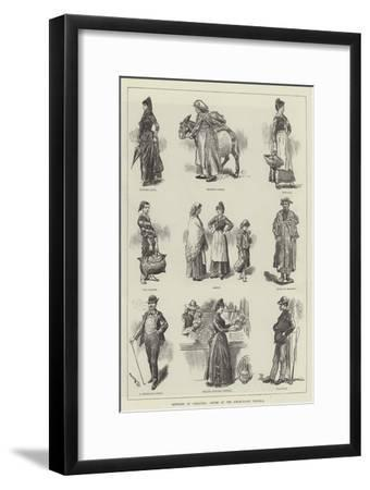 Sketches at Gibraltar, Cruise of the Steam-Yacht Victoria-William Douglas Almond-Framed Giclee Print