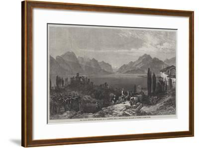 The Vintage, Desenzano, Lago Di Garda-William Harding Collingwood-Smith-Framed Giclee Print