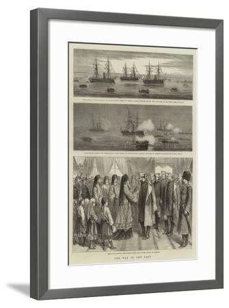 The War in the East-William Edward Atkins-Framed Giclee Print