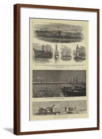 The War in Egypt-William Edward Atkins-Framed Giclee Print