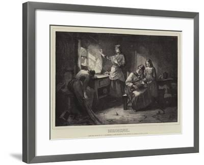 For Men Must Work and Women Must Weep-William Harris Weatherhead-Framed Giclee Print