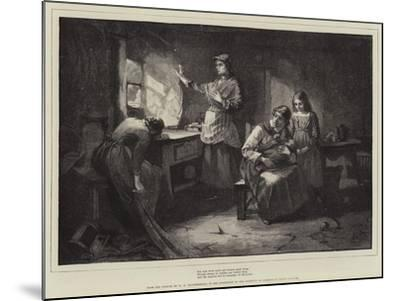 For Men Must Work and Women Must Weep-William Harris Weatherhead-Mounted Giclee Print