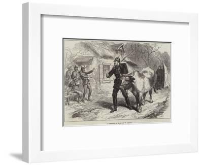 A Prisoner of War-William 'Crimea' Simpson-Framed Giclee Print