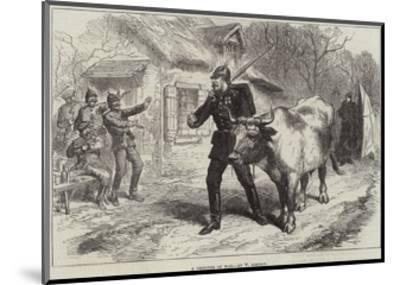 A Prisoner of War-William 'Crimea' Simpson-Mounted Giclee Print