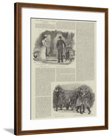 Lord Anerley, at the St James's Theatre-William Douglas Almond-Framed Giclee Print