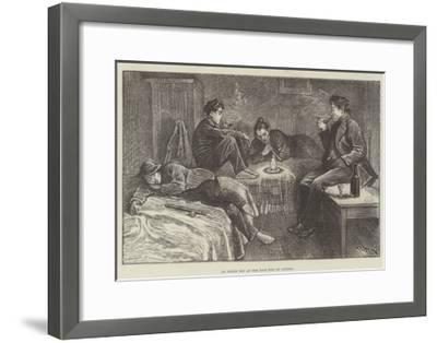 An Opium Den at the East End of London-William Douglas Almond-Framed Giclee Print