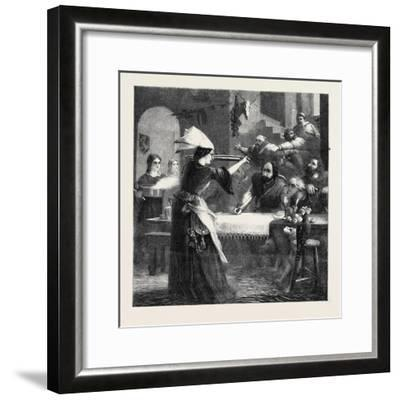 The Spur in the Dish-William Bell Scott-Framed Giclee Print