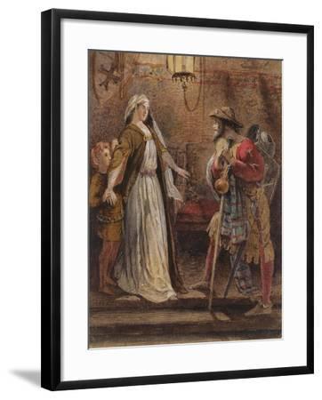 Return from the Long Crusade, 1861-William Bell Scott-Framed Giclee Print