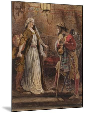 Return from the Long Crusade, 1861-William Bell Scott-Mounted Giclee Print