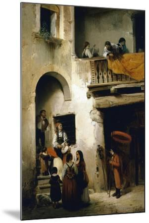 Viaticum, 1858-William Castoldi-Mounted Giclee Print