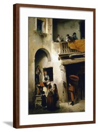 Viaticum, 1858-William Castoldi-Framed Giclee Print