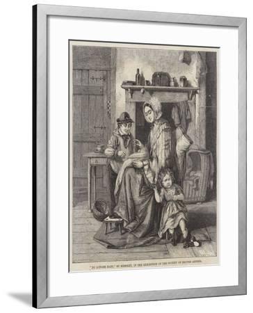 No Longer Baby-William Hemsley-Framed Giclee Print