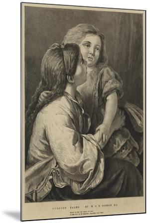Nursery Tales-William Charles Thomas Dobson-Mounted Giclee Print