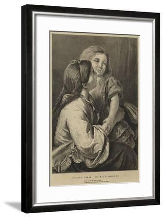 Nursery Tales-William Charles Thomas Dobson-Framed Giclee Print