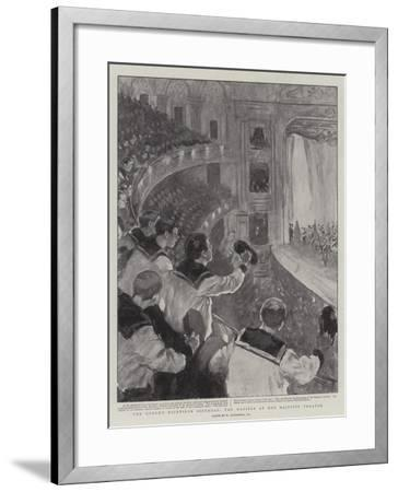 The Queen's Eightieth Birthday, the Matinee at Her Majesty's Theatre-William Hatherell-Framed Giclee Print