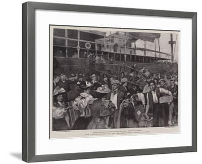 The Commencement of the Transatlantic Tourist Season-William Hatherell-Framed Giclee Print