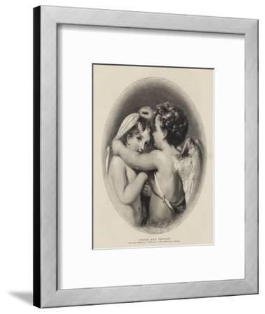 Cupid and Psyche-William Etty-Framed Giclee Print