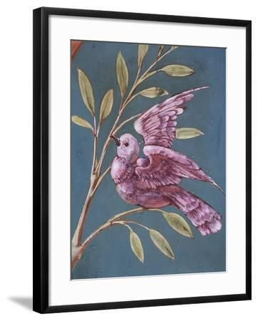 Bird and Branch-William de Morgan-Framed Giclee Print