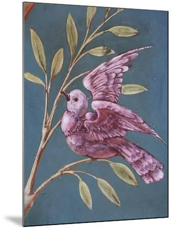 Bird and Branch-William de Morgan-Mounted Giclee Print