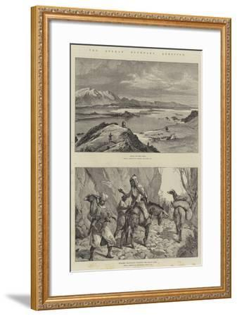 The Afghan Boundary Question-William Heysham Overend-Framed Giclee Print