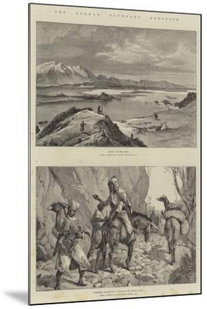 The Afghan Boundary Question-William Heysham Overend-Mounted Giclee Print