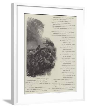 Grace Darling-William Heysham Overend-Framed Giclee Print