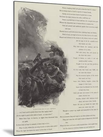 Grace Darling-William Heysham Overend-Mounted Giclee Print