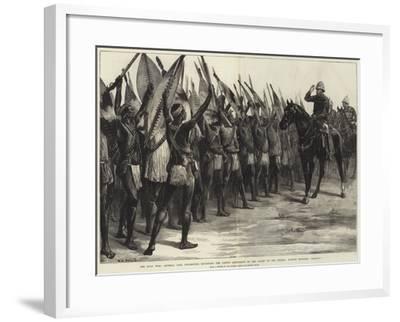 The Zulu War-William Heysham Overend-Framed Giclee Print