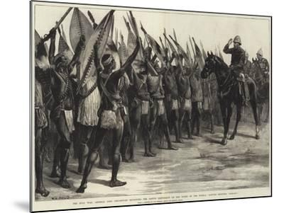 The Zulu War-William Heysham Overend-Mounted Giclee Print