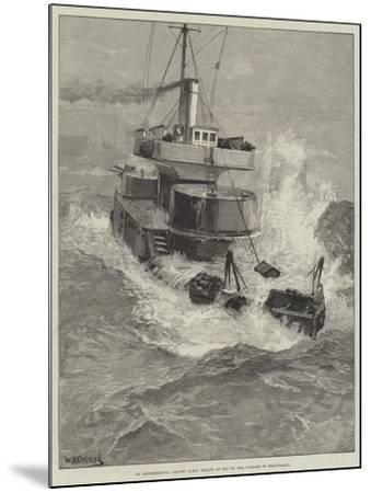 An Experimental Cruise, HMS Hecate at Sea on Her Passage to Heligoland-William Heysham Overend-Mounted Giclee Print