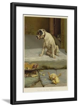Guilty, or Not Guilty?-William Henry Hamilton Trood-Framed Giclee Print