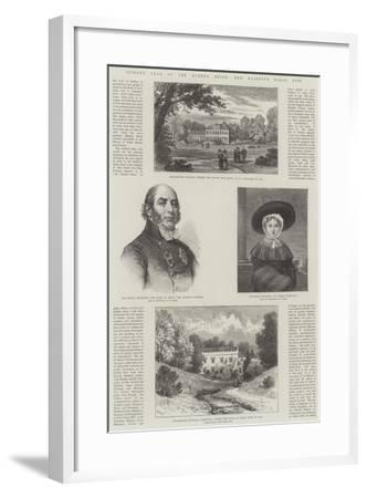 Jubilee Year of the Queen's Reign, Her Majesty's Early Life-William Henry James Boot-Framed Giclee Print