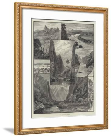 Views in the Fiji Islands-William Henry James Boot-Framed Giclee Print