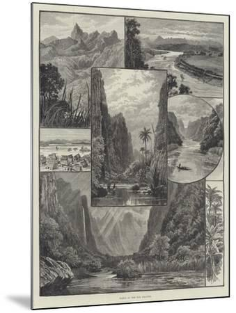 Views in the Fiji Islands-William Henry James Boot-Mounted Giclee Print